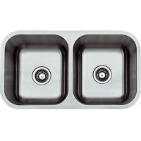 "STAINLESS STEEL UNDERMOUNT SINK 31-1/4""x18""x9"""