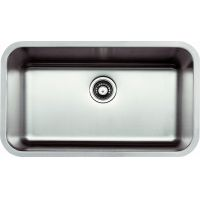 "STAINLESS STEEL UNDERMOUNT SINGLE-BOWL SINK 31-1/8""x18""x9"""
