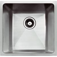 "HANDMADE UNDERMOUNT SINGLE SINK RADIUS - 20""x18""x9"""