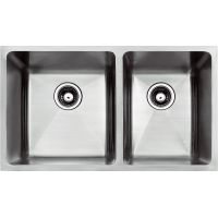 "HANDMADE UNDERMOUNT BIG-LEFT SMALL-RIGHT SINK RADIUS - 32""x19""x1"