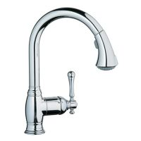 Bridgeford - High Profile with Pull Down Spray - chrome