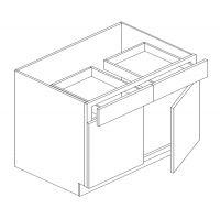 "33"" BASE CABINET - 2 DOOR, 2 DRAWER"